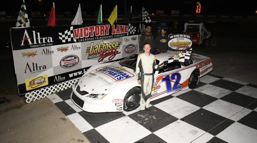 Nick Murgic Victory Lane