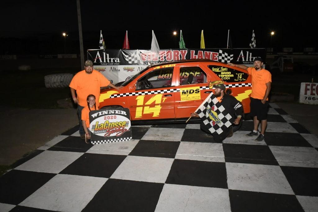 David Treu Jr Winner Circle