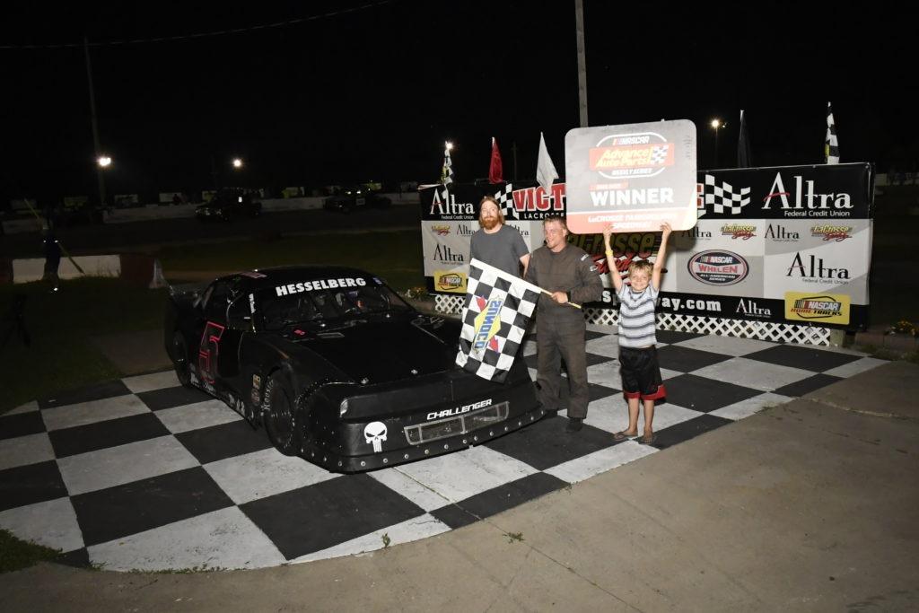 Brian Hesselberg Victory Lane