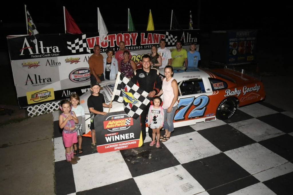 Jacob Goede Victory Lane