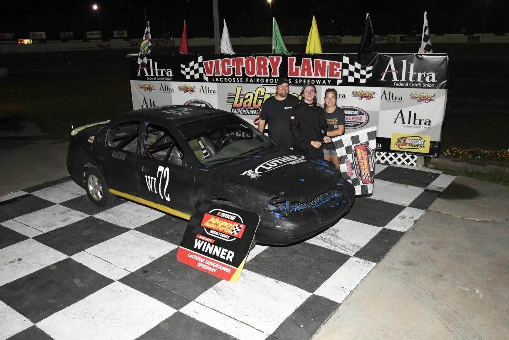 Ashton Kinsey Victory Lane