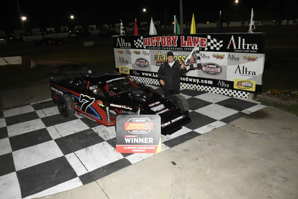 Rick Coppernoll Victory Lane